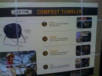 Costco Compost Tumbler