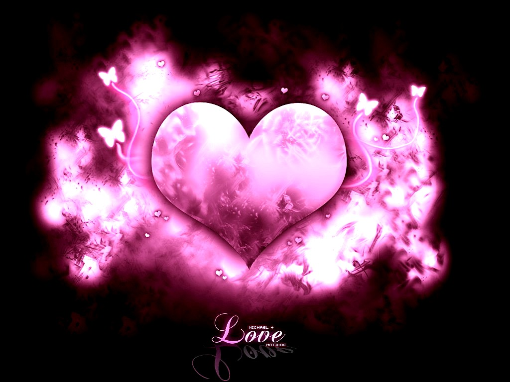 Pink Love Wallpaper: Free Download Beautiful Pink Love Wallpaper