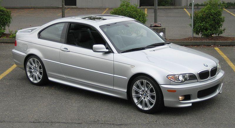 Zdjęcie bmw e46 w wersji Coupe