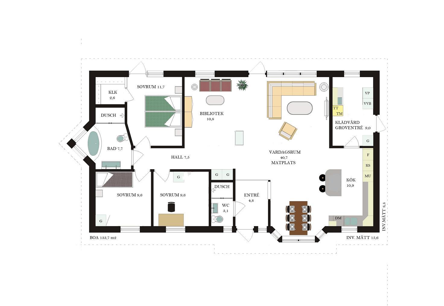 Villa Beierholm Planlosning