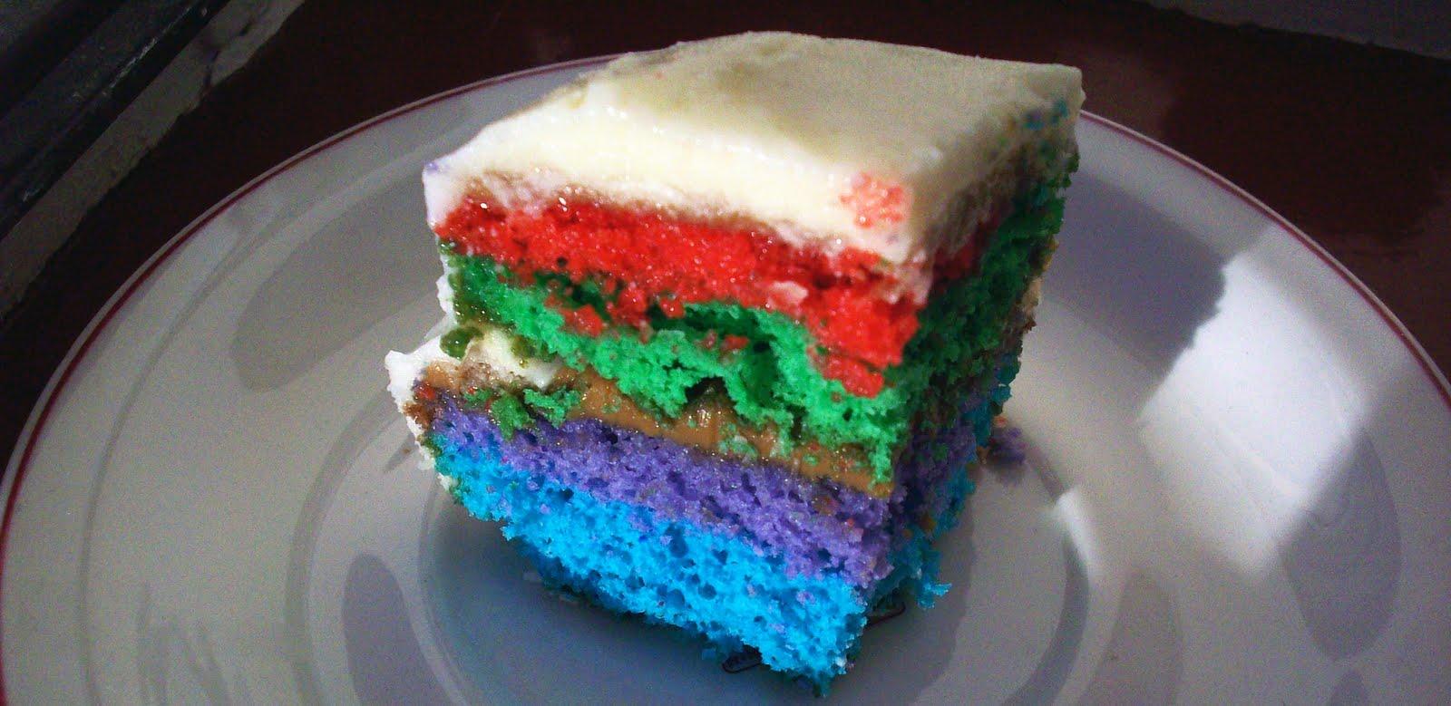 Rainbow Sponge Cake Tiny Oven Adventures