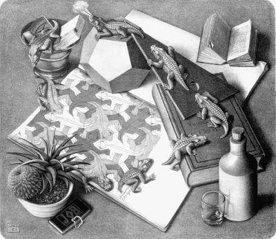 Resultado de imagen para MAURITS CORNELIS ESCHER - EL ARTÍSTA DE LO IMPOSIBLE
