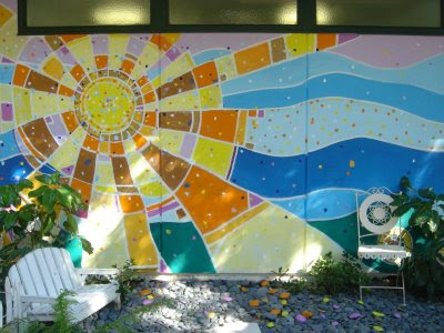 Lois S Art Blog Sun Mural At Sunnyside
