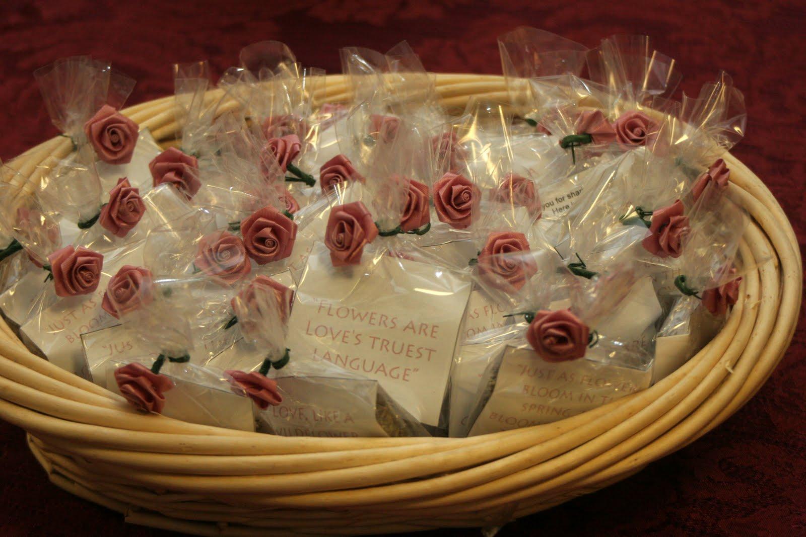 DIY Wedding Favors - Flower Seeds