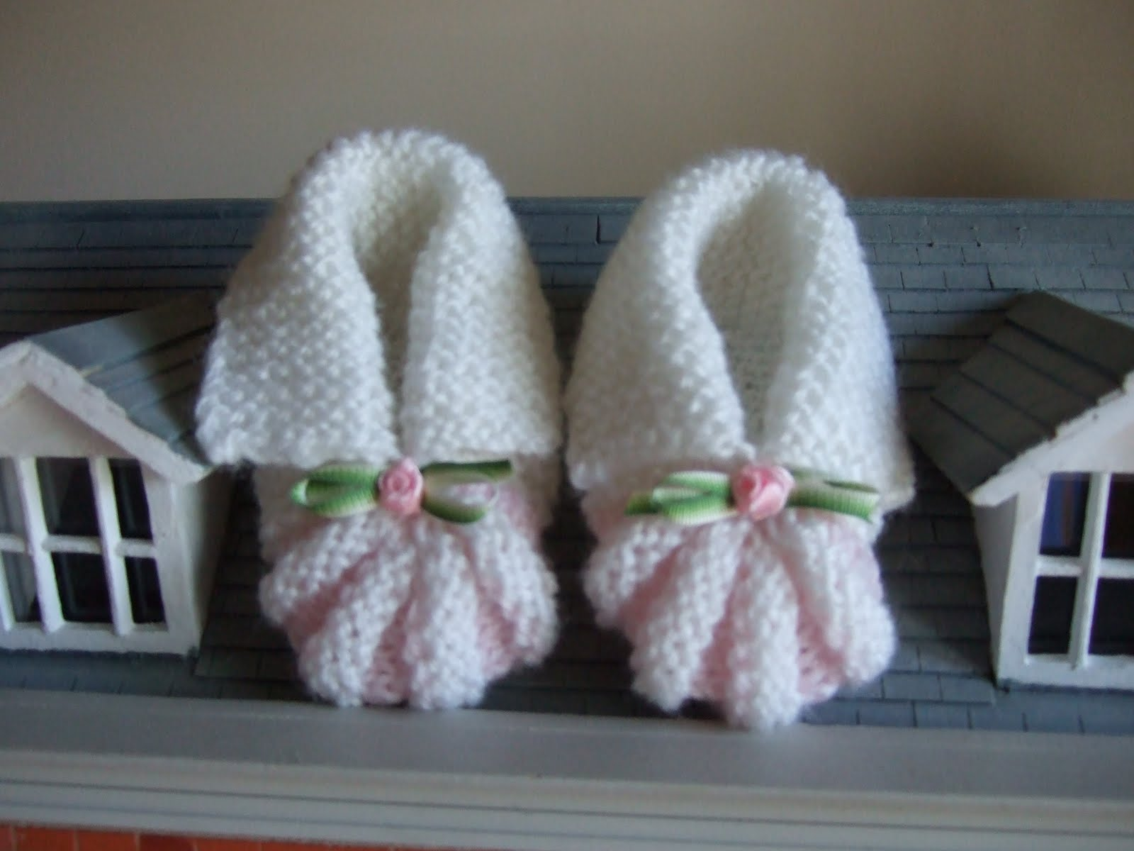 Knitting Pattern For Baby Booties | Patterns Gallery