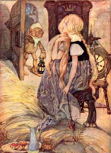 Carol R. Ward: Fairy Tale Origins - Part VII Rumplestiltskin