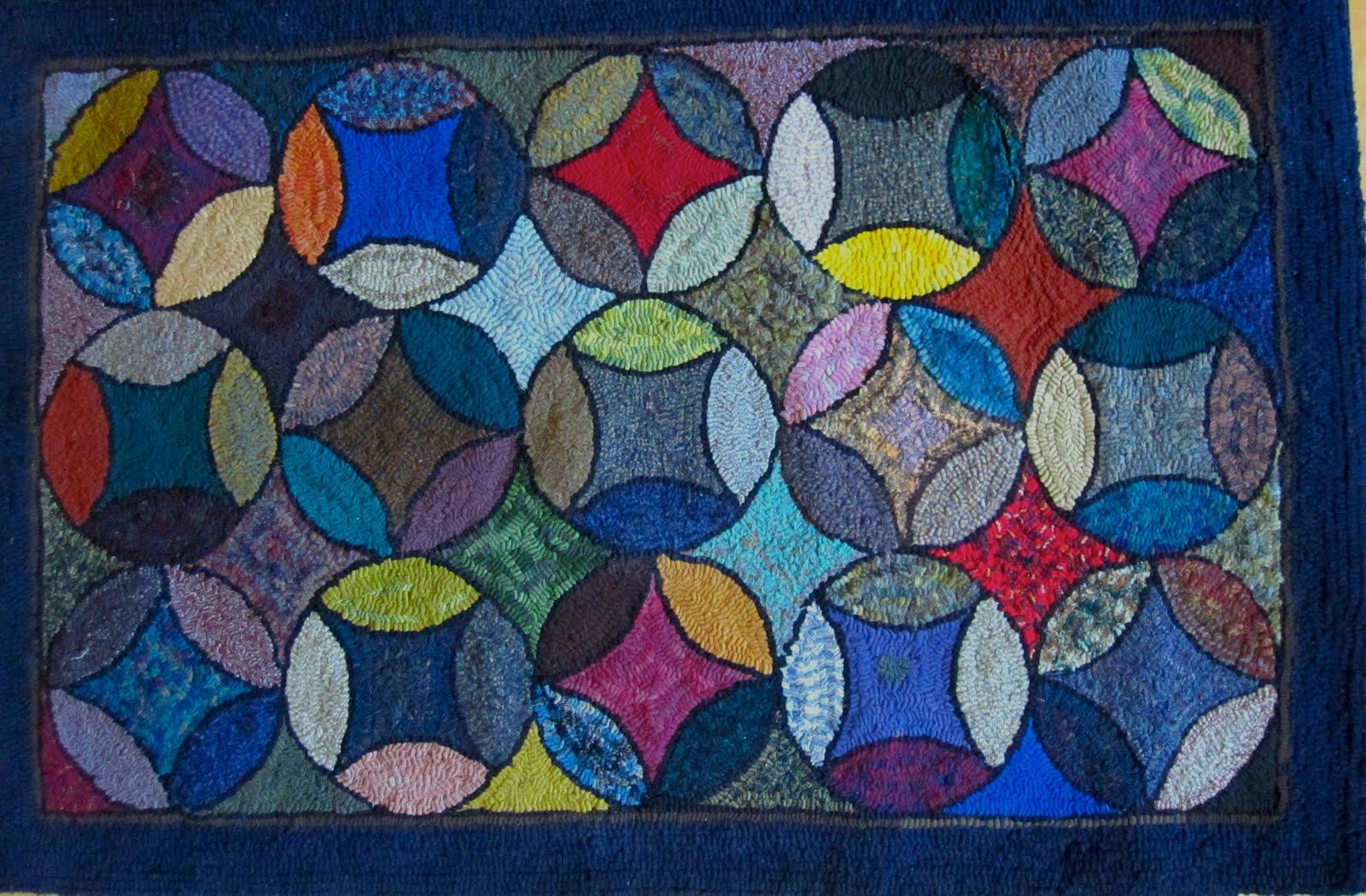 Geometric Rug Hooking Patterns