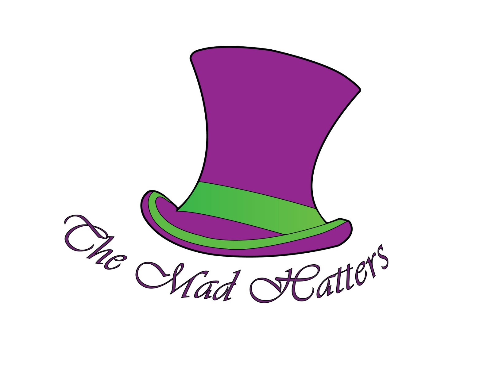 Adventures in Wonderland: New Mad Hatters Logo