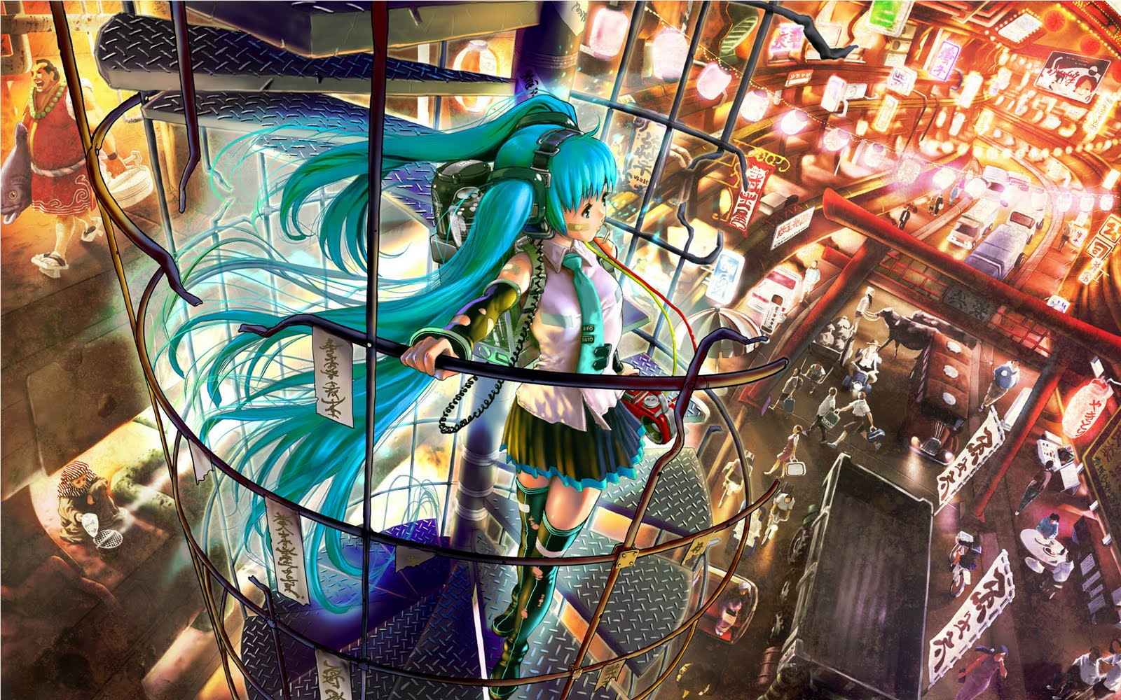 Wallpaper amazing hatsune anime wallpapers 1920 x 1200 - Wallpaper manga anime ...