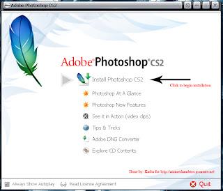 Gaara's Graphics: Photoshop 9 CS2+Full Activation Guide