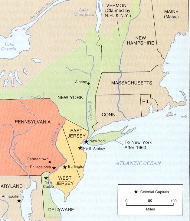 13 Colonies Free Map Worksheet and Lesson  Mid Atlantic Colonies Product Map