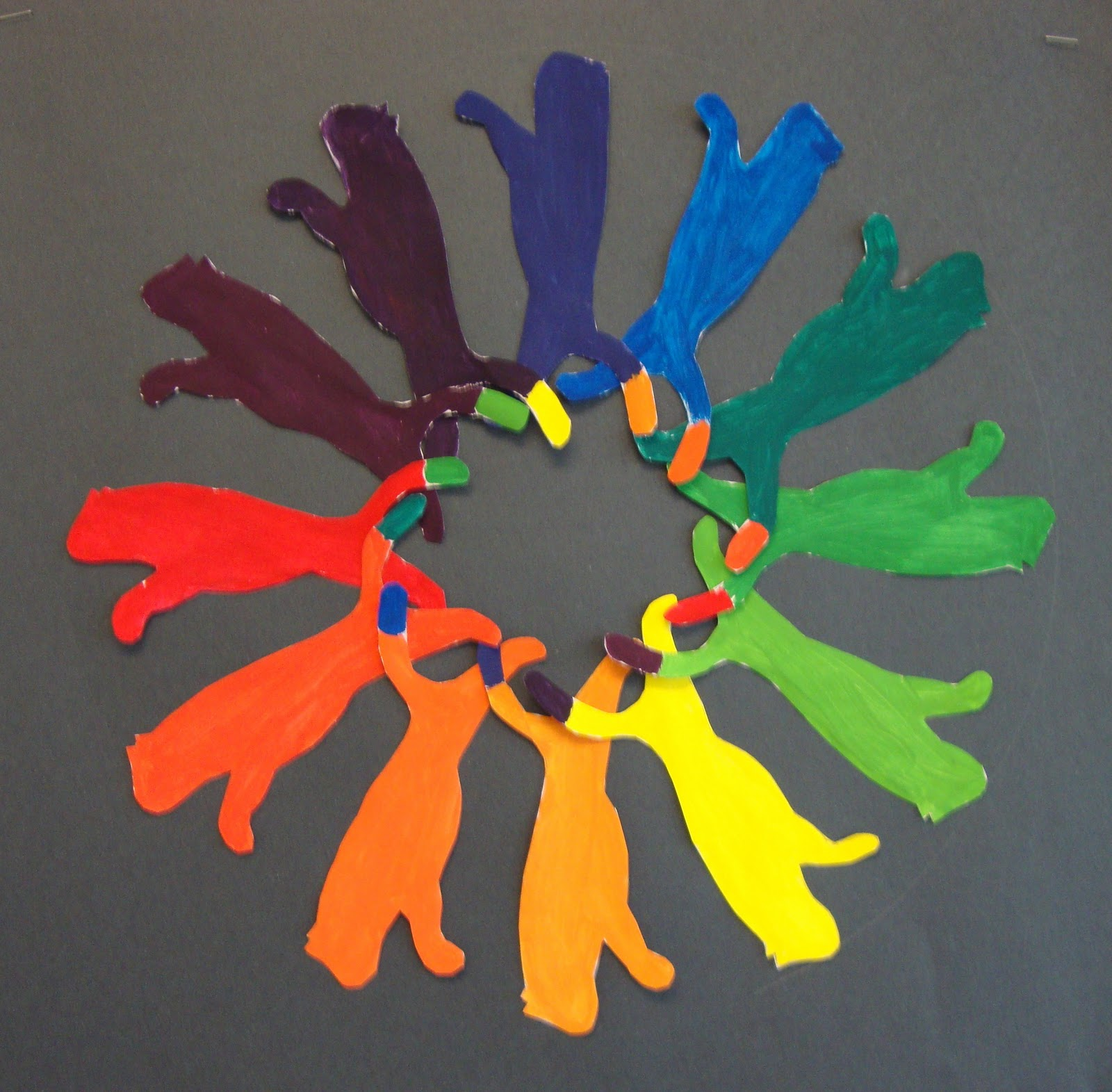 Creative Color Wheel Materials