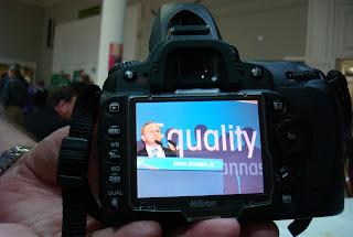 Barry McElduff - photo originally taken by Sinn Fein's official photographer