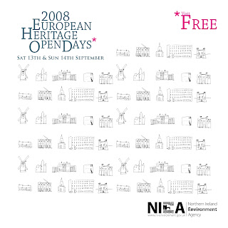 2008 European Heritage Open Days Northern Ireland brochure