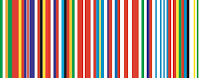 25 state version of Rem Koolhaas' EU barcode flag