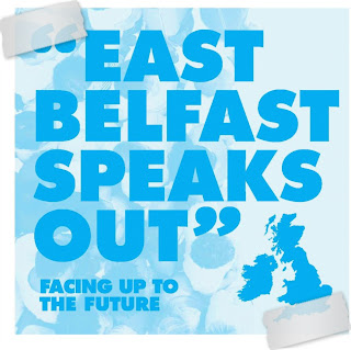 East Belfast Speaks Out poster