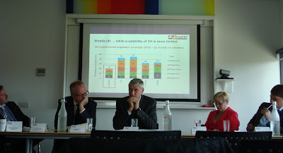 Ofcom panel looking at the 2010 Communications Market Report for Northern Ireland