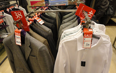 £10 shirt on sale in House of Fraser