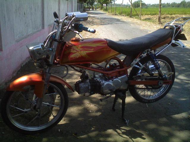 Modif Motor Yamaha 2011: Modifikasi Motor Honda Win