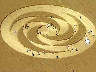Kupas tuntas misteri ufo-alien crop sircle yang menggemparkan dunia