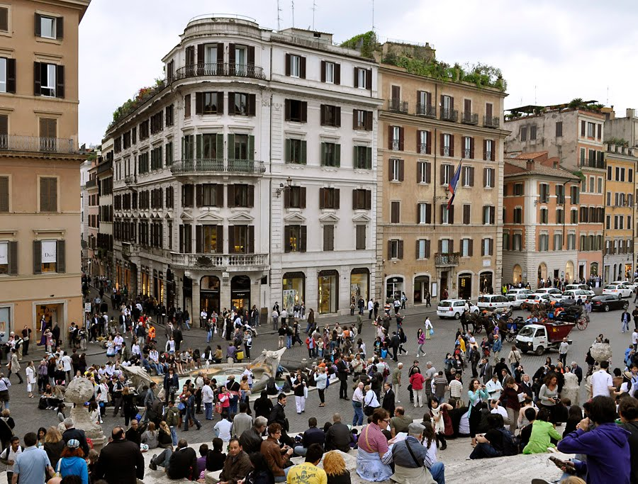 Tomatoes From Canada: The Spanish Steps, Rome