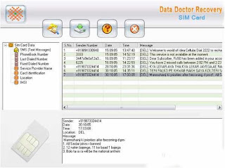 SIM Card Reader 3.0.1.5 - Easy Recovery Solution to Recover Accidentally Erased Text Messages
