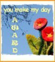 The You Make My Day award