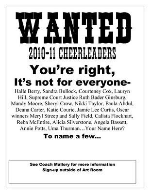 Cheer Coach's Blog: October 2010