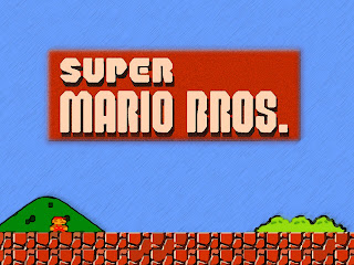 logo super mario bros 1