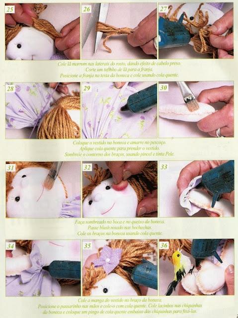 kumaş oyuncak yapımı