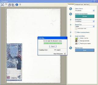 progress scanning mp160
