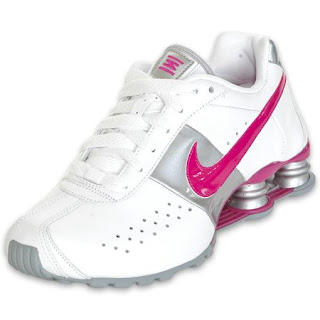 18d703ac27c nike shox classic branco e rosa