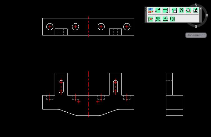 AutoCAD & Adaucogit Salt: 關於自動標注尺寸~一次圈選欲標註的視圖