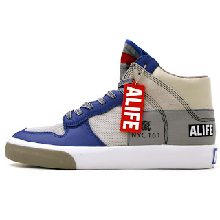 Alife Everybody High America Leather Blue
