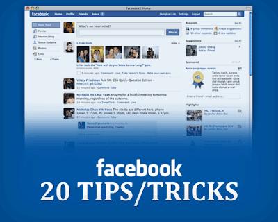 20 Tips & Trick FaceBook Yang Mungkin Belum Anda Ketahui