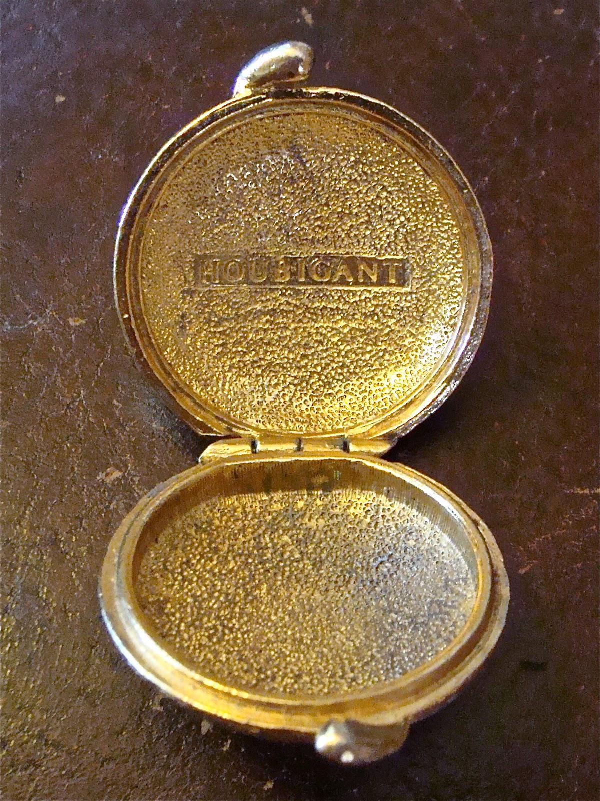 Whitny Braun Vintage Houbigant Perfume Compact