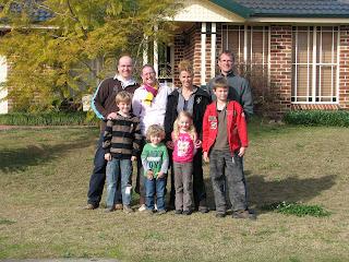 Familie Coolen Down Under Speech Fleur En Henk Chris Bas En