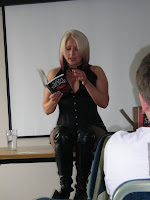 Reading from Killing Kiss
