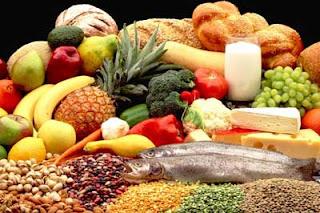 Alimentos el color natural