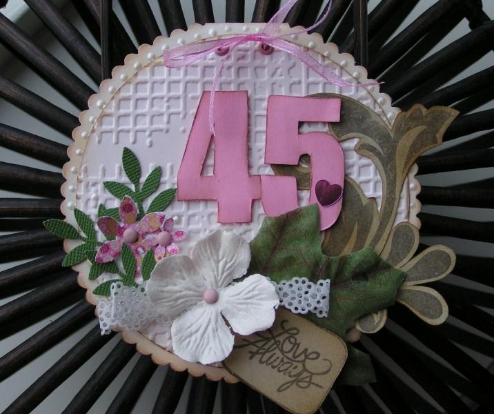 45 jaar getrouwd kaart Boukjes Blog!: Always Love 45 jaar getrouwd kaart