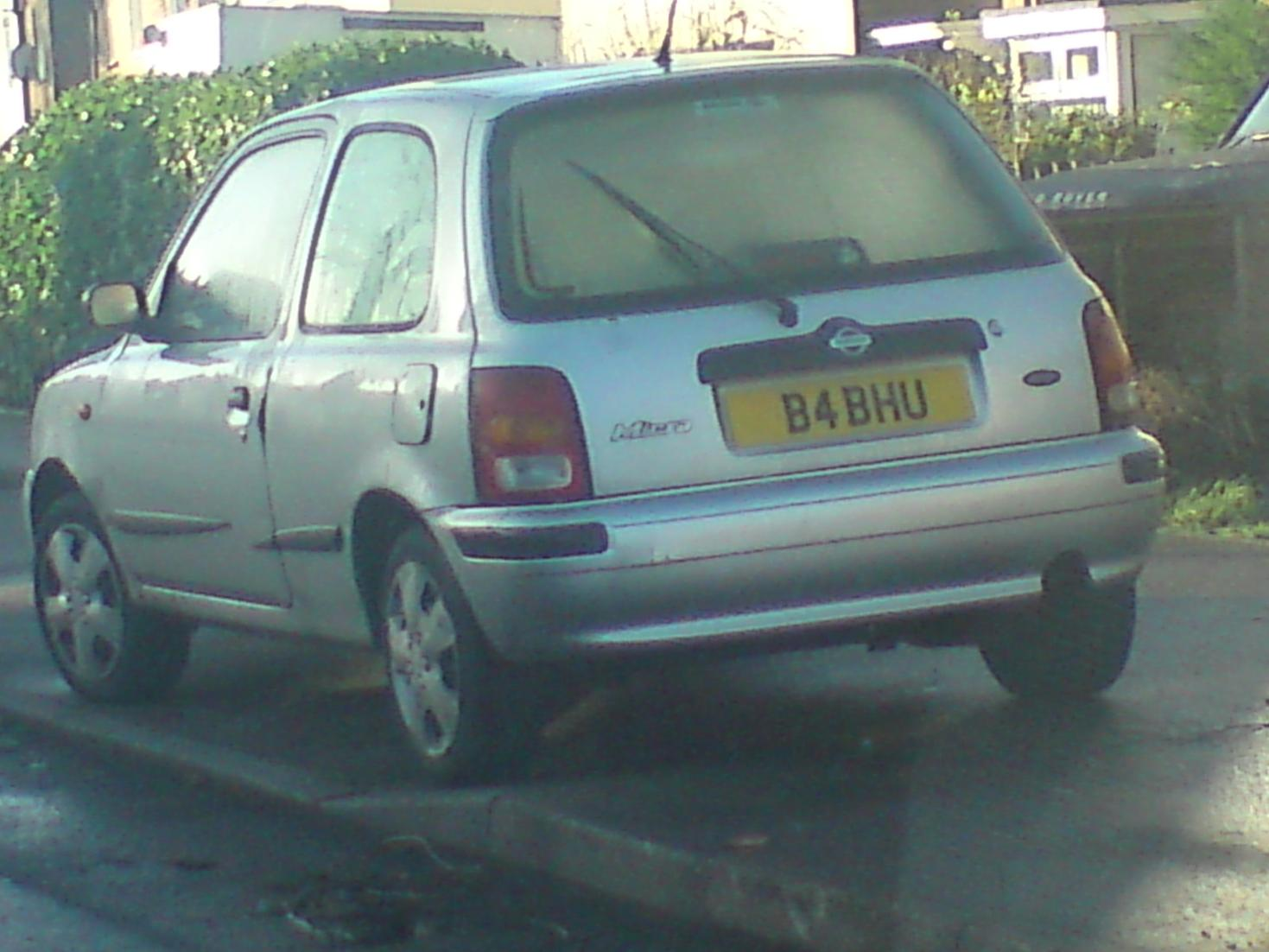 Curious Amp Illegal Number Plates Wedges Bakery