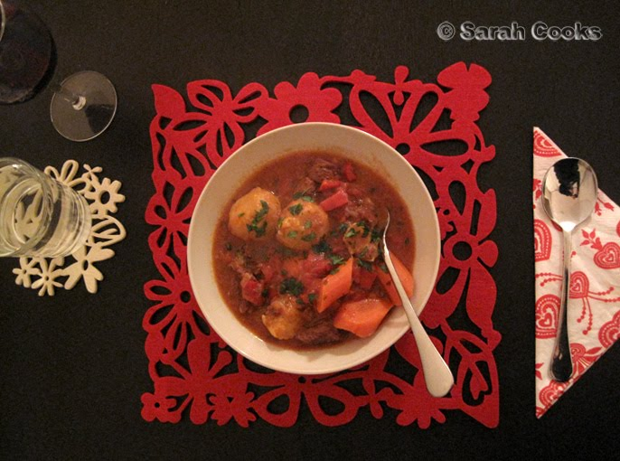 Sarah Cooks Beef Stew With Jamie Oliver S Dumplings