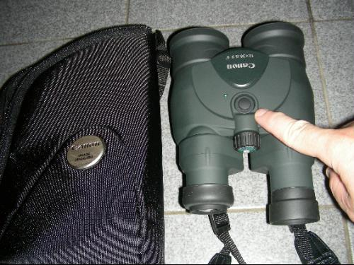 The Canon 12x36 Is Ii Binoculars