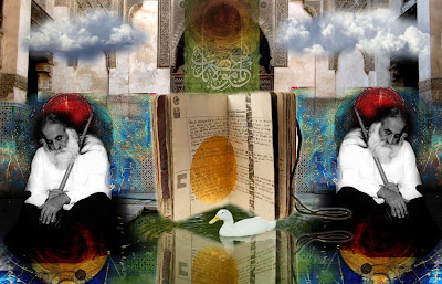 Rumi, Shams, Drowned Book, Sadiq Collage