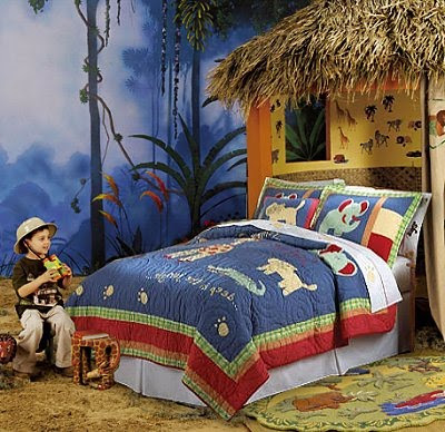Safari theme bedroom teen