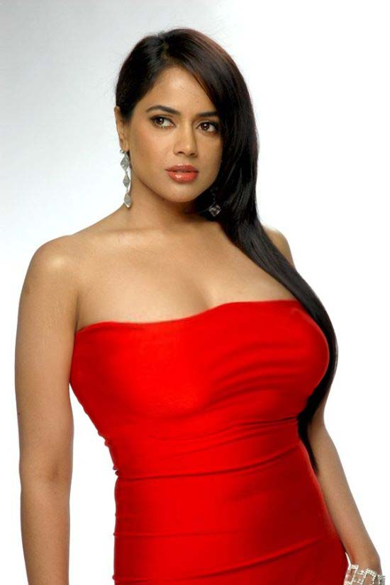 Romantic Indian Girls Sexy Woman In Red Dress