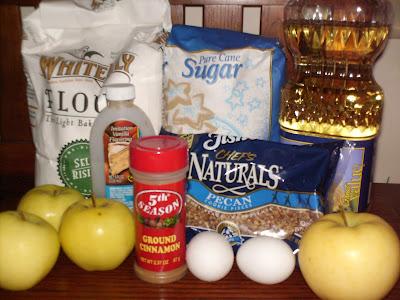 Apple Spice Muffins ingredients