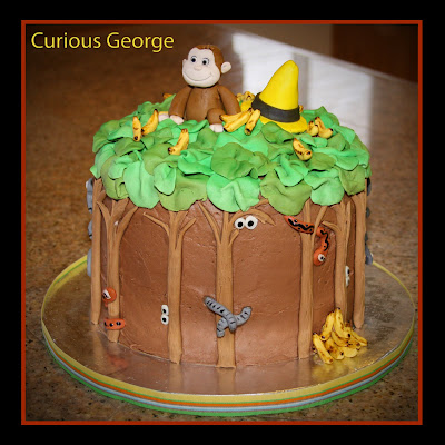 Curious George Cake Blog Title