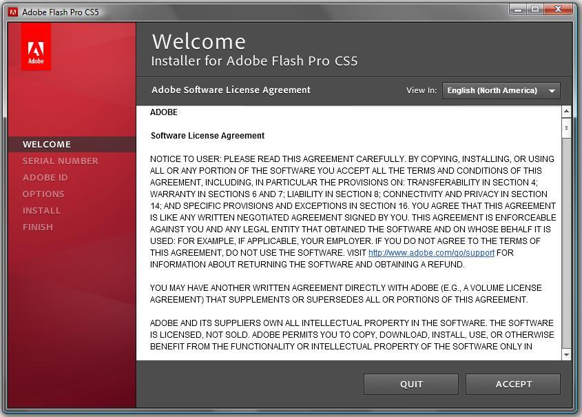 Buying Older Version of Adobe Flash CS5
