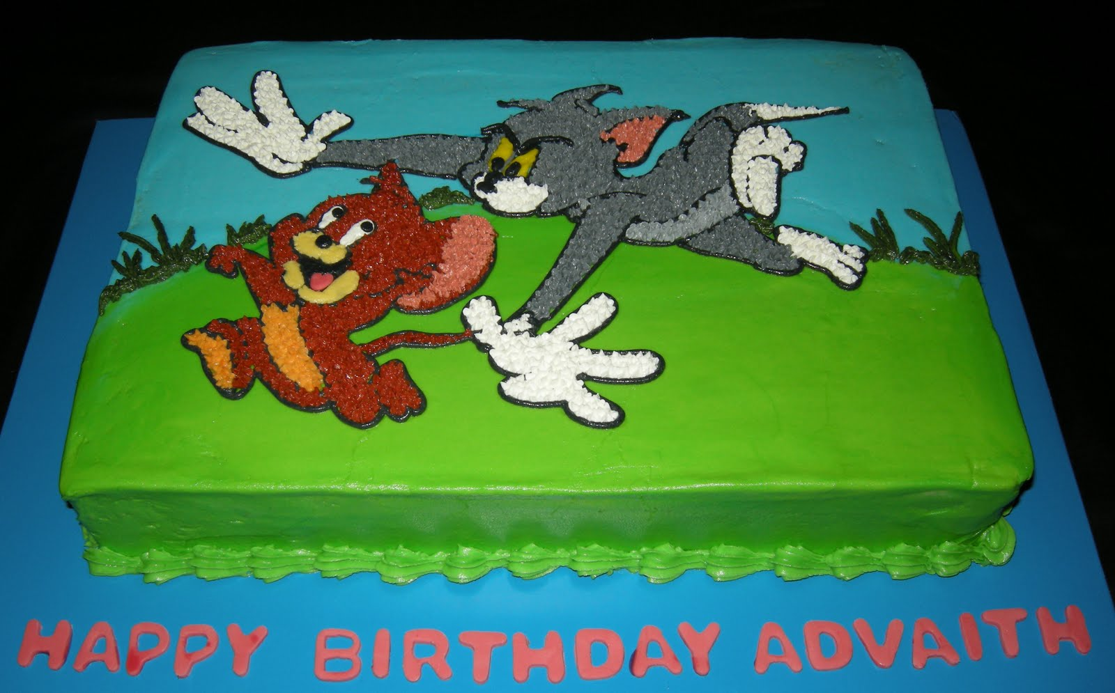 Tom And Jerry Cake Topper Tutorial